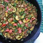 One Skillet Ground Beef Recipe With Zucchini And Spices – Ground Beef Recipes Zucchini