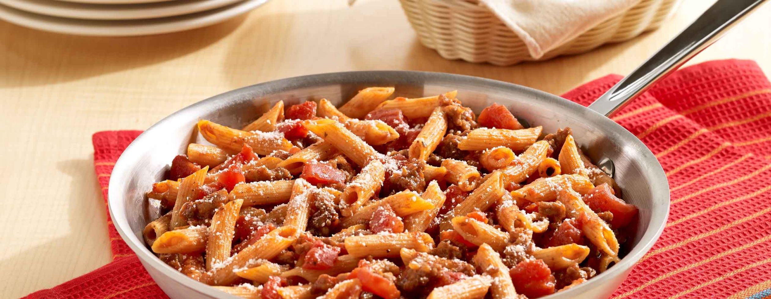 One-Skillet Italian Sausage Pasta - Recipes Pasta With Sausage