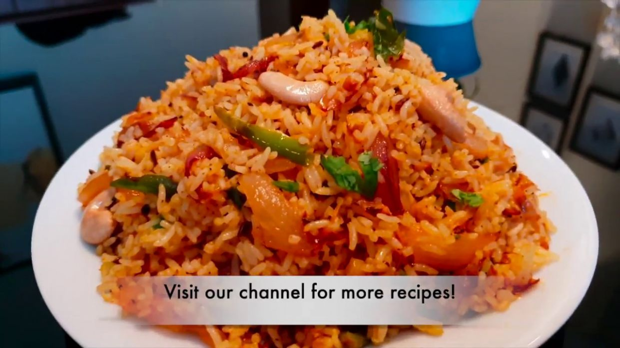 Onion Rice - Onion Fried Rice Recipe - Easy Indian Rice Varieties for Lunch  - Moms Tasty Food - Recipes Rice With Onion