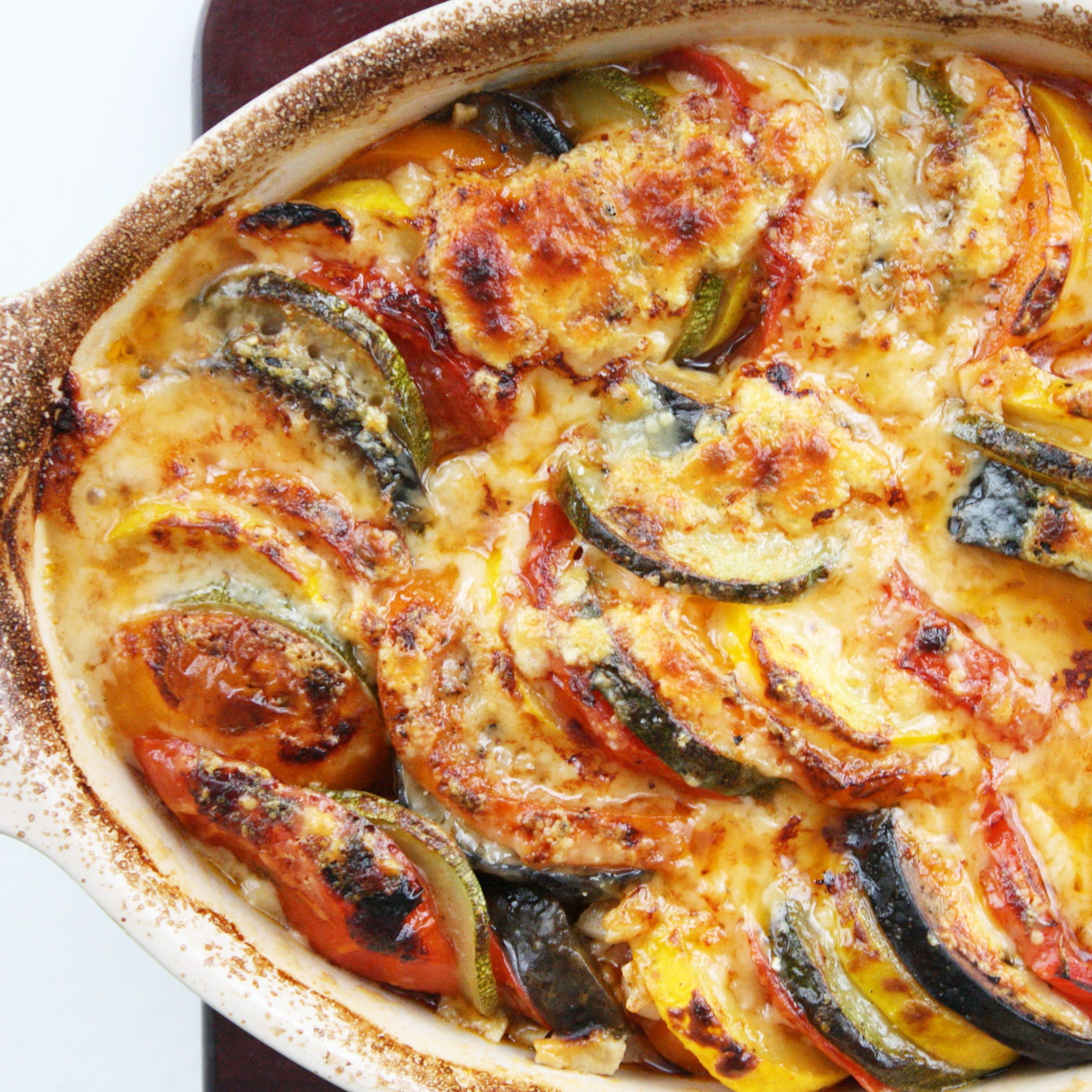 Original Baked Ratatouille – Healthy Vegetable Dish Recipes for ..