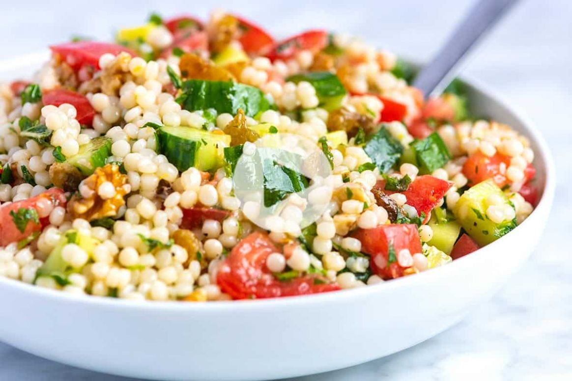 Our Favorite Lemon Herb Couscous Salad - Recipes Couscous Salad