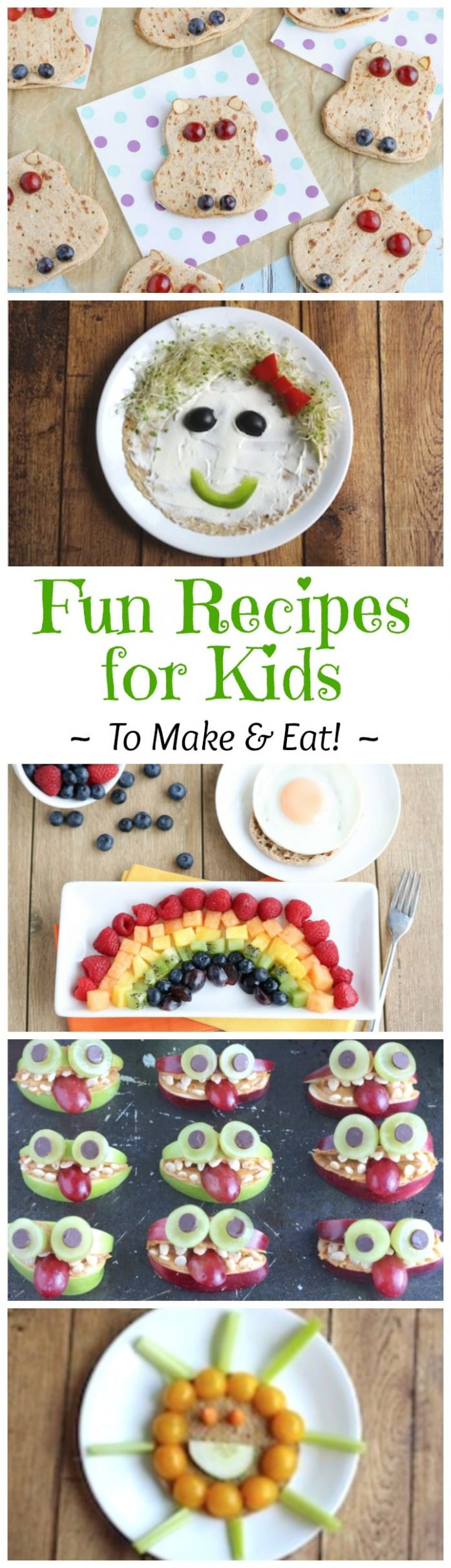 Our Favorite Summer Recipes for Kids ... Fun Cooking Activities ..