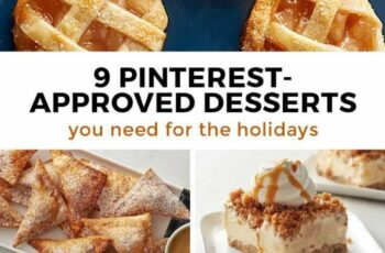Our Top 10 Holiday Desserts, According to Pinterest | Holiday ...