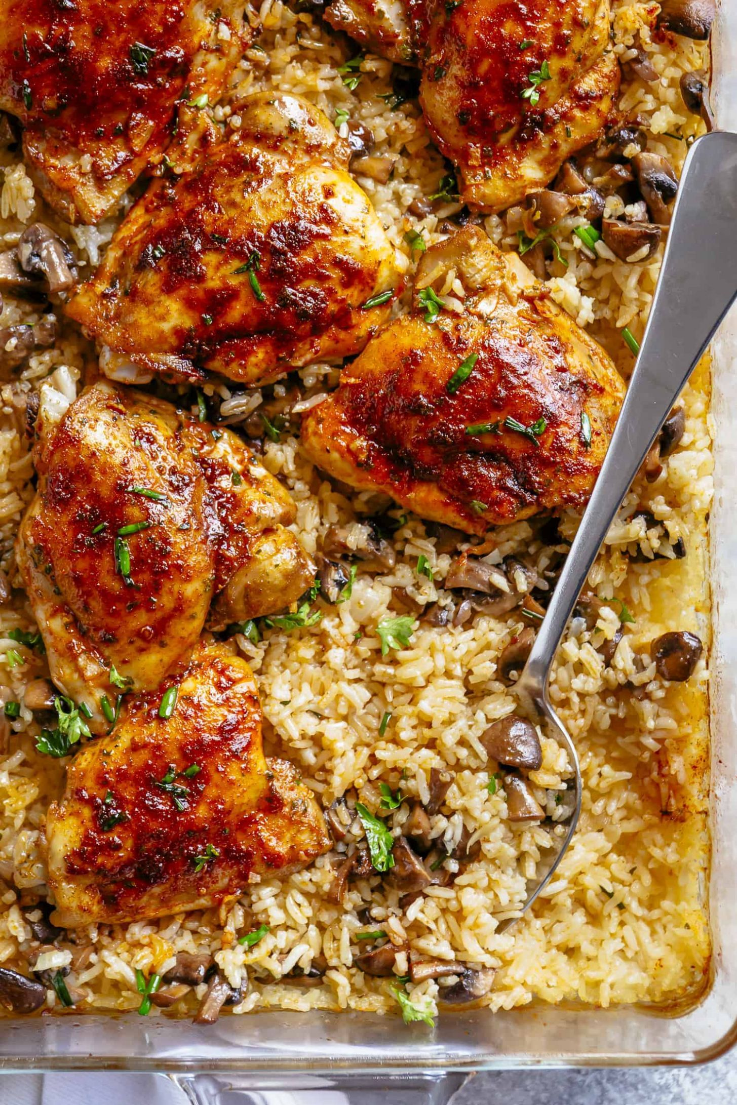 Oven Baked Chicken and Rice - Recipes Chicken In Oven