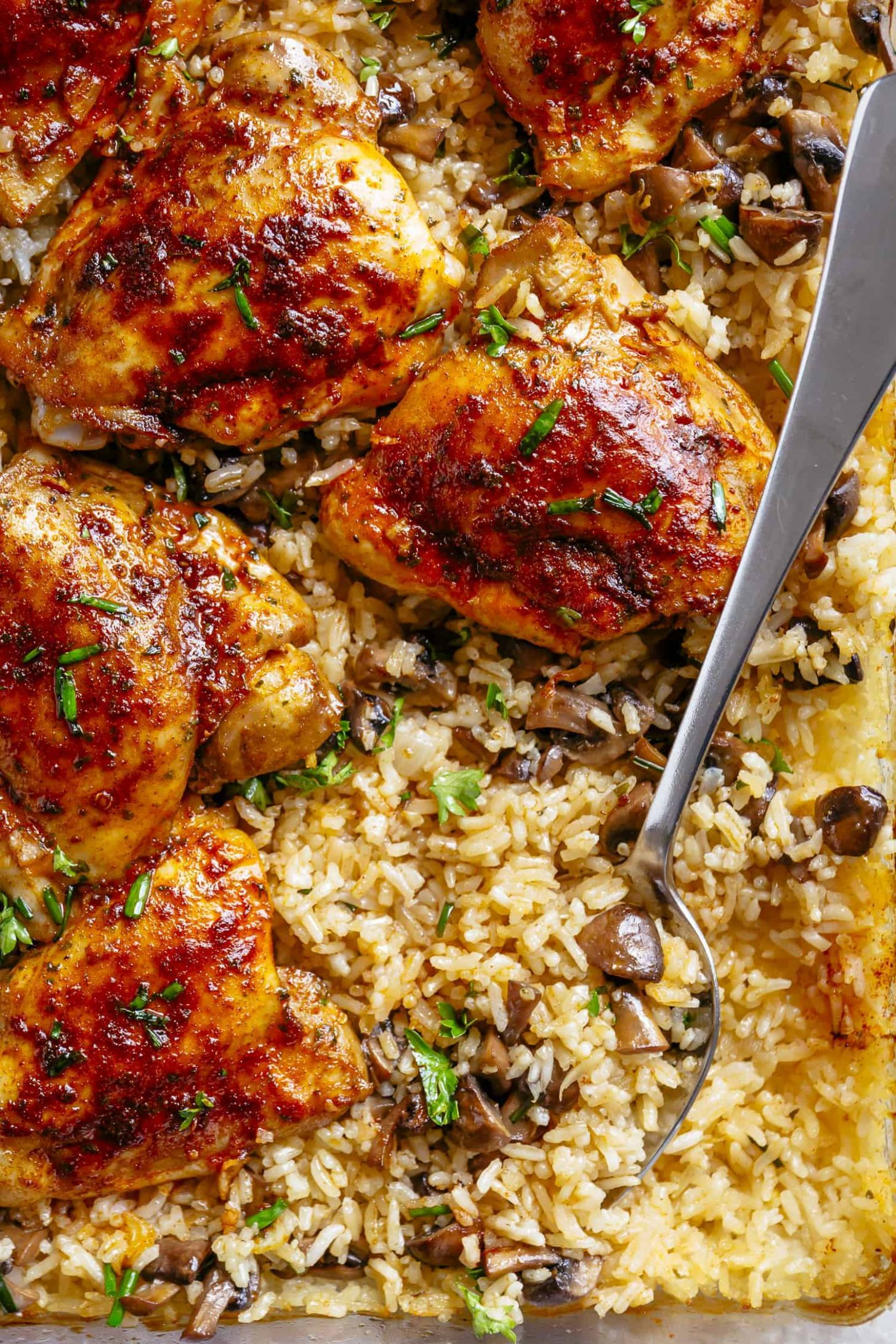 Oven Baked Chicken and Rice - Recipes Rice And Chicken
