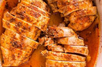 Oven Baked Chicken Breast Extra Juicy - iFOODreal