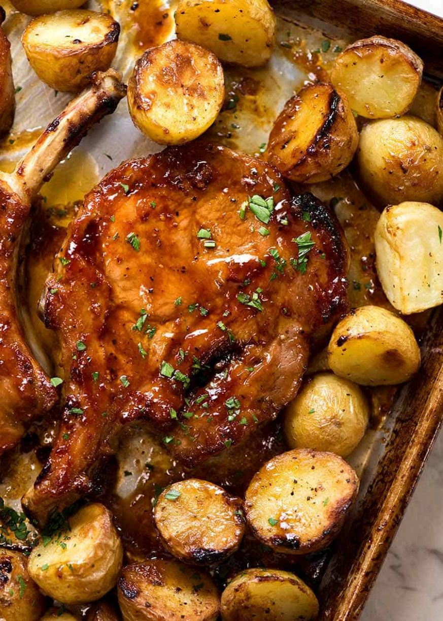 Oven Baked Pork Chops with Potatoes | RecipeTin Eats - Recipe Pork Oven