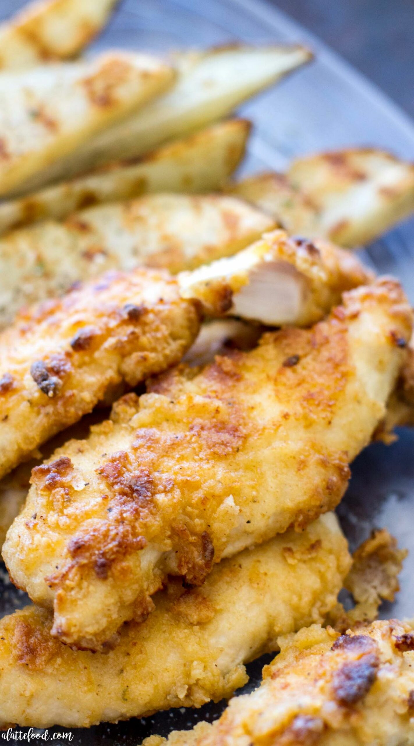 Oven-Baked Ranch Chicken Tenders - Recipes Chicken Breast Strips