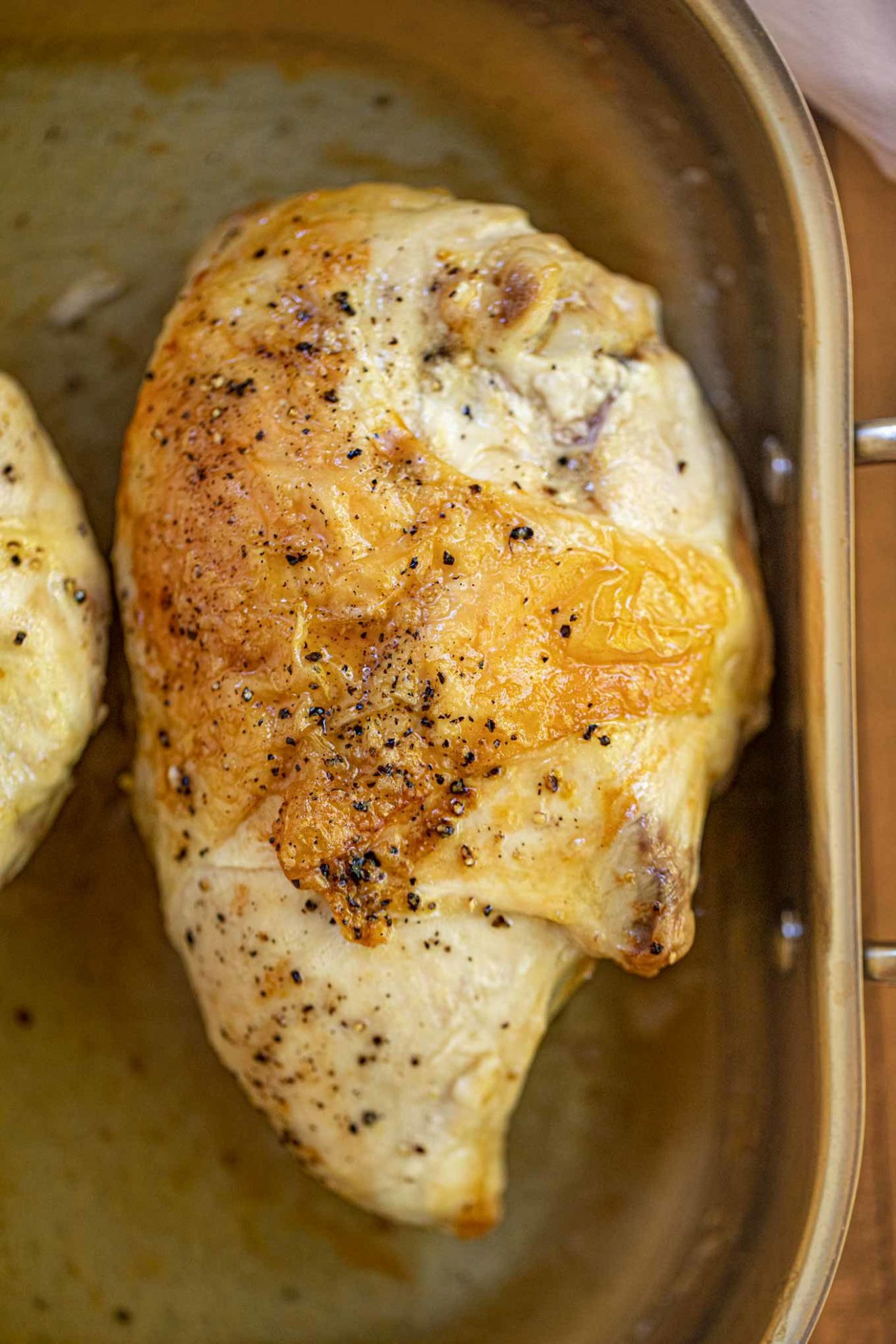 Oven Baked Split Chicken Breasts (Bone-In) - Dinner, then Dessert - Recipes Chicken Breast On The Bone