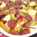 Oven Roasted Sausage Potatoes & Peppers