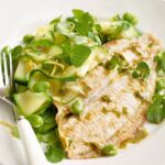 Pan Fried Plaice With Minty Green Salad – Recipes Cooking Plaice Fillets