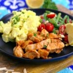 Pan Grilled BBQ Chicken for Cold BBQ Salad Bowls | Mind Over Munch