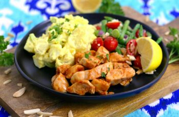 Pan Grilled BBQ Chicken for Cold BBQ Salad Bowls   Mind Over Munch