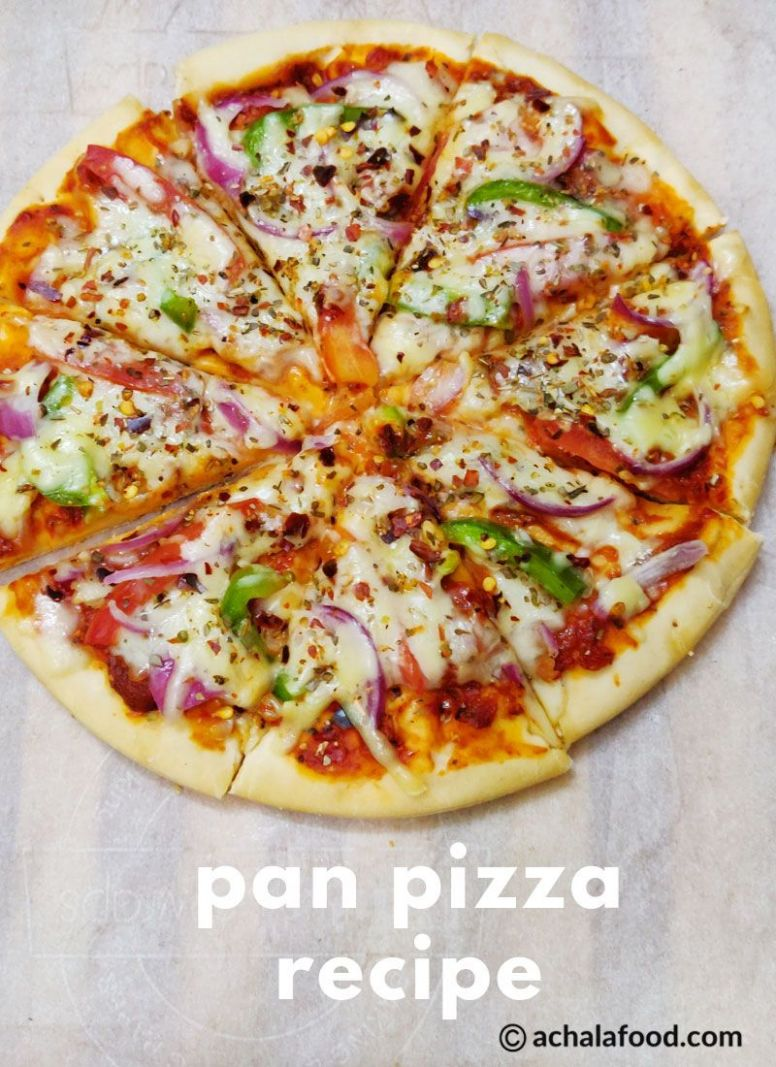 Pan pizza - Pizza Recipes Appetizers