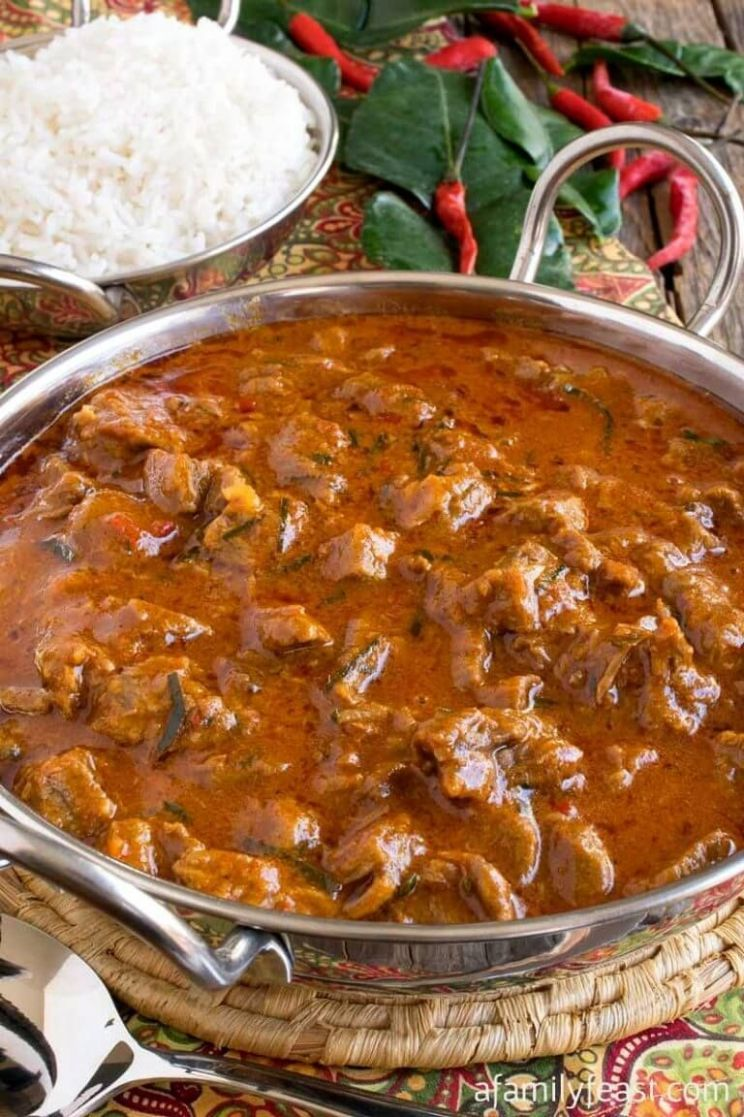 Panang Beef Curry - Beef Recipes Indian