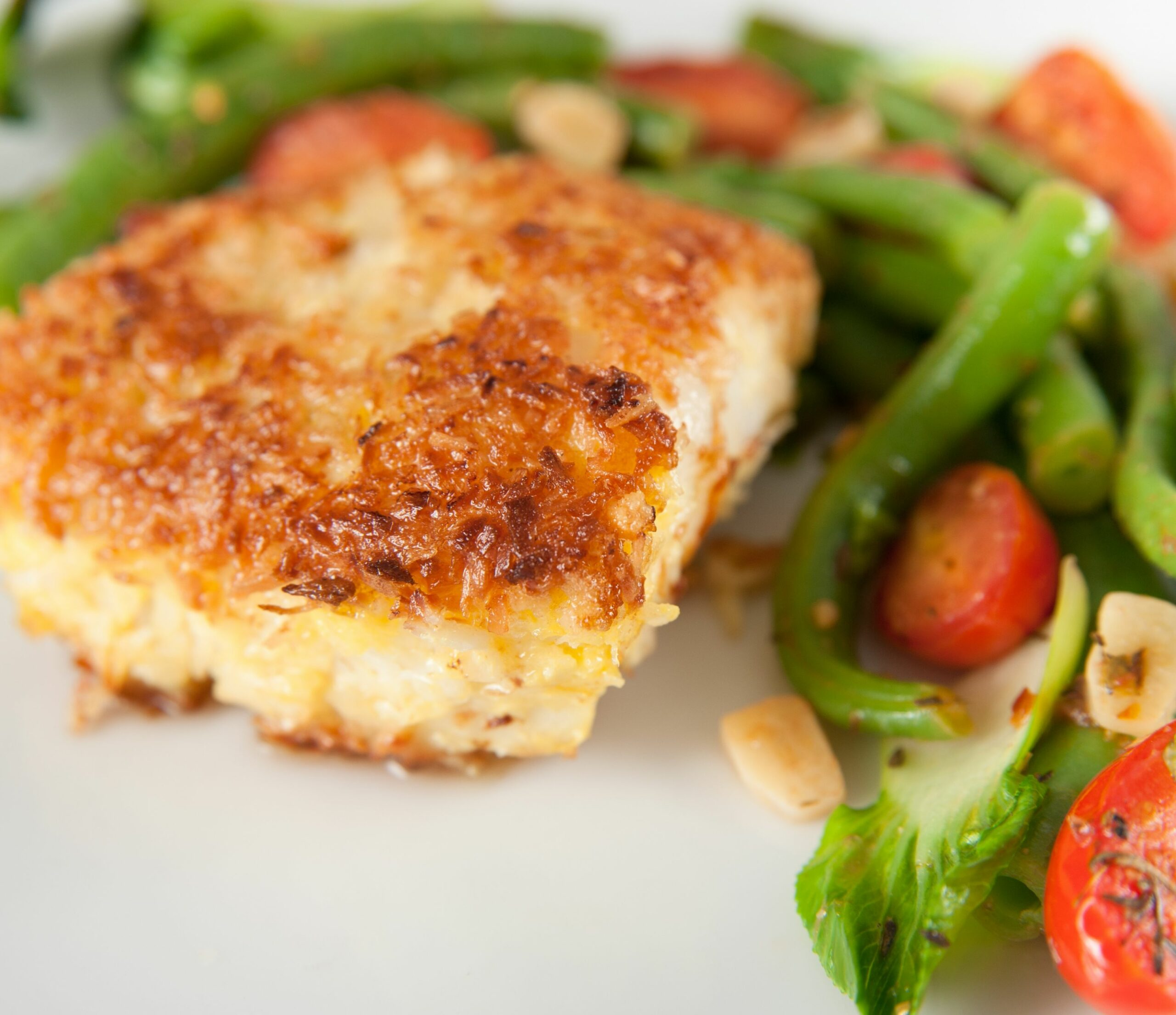 Parmesan Baked Cod - Recipes Cooking Cod