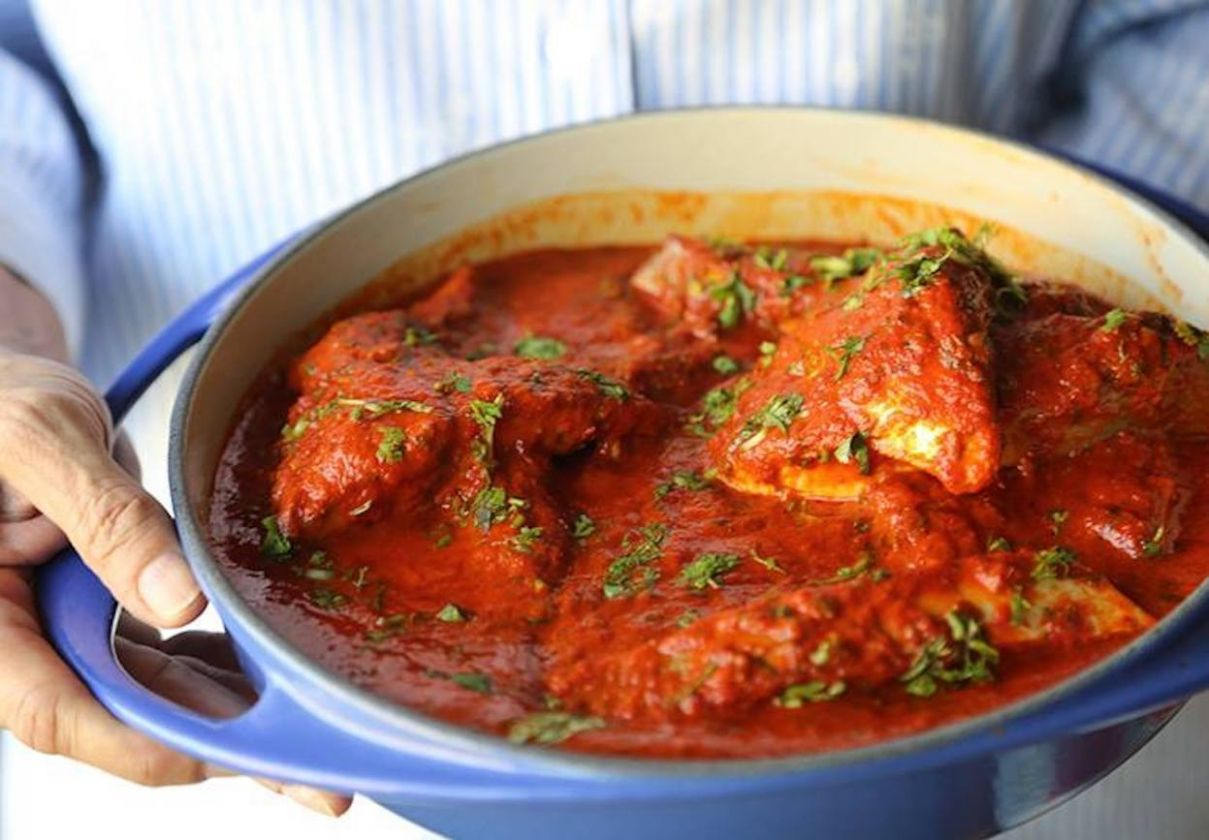 Parsi Fish Vindaloo - Recipe Fish Vindaloo