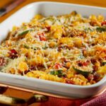 Pasta & Mixed Vegetable Bake