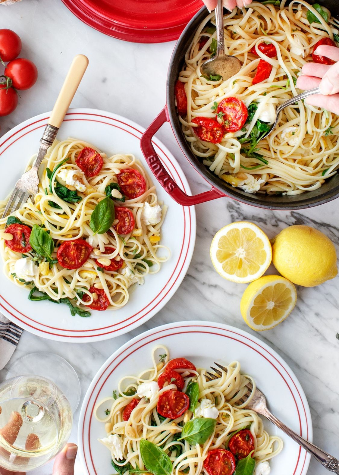 Pasta Recipes: Linguine with Lemon