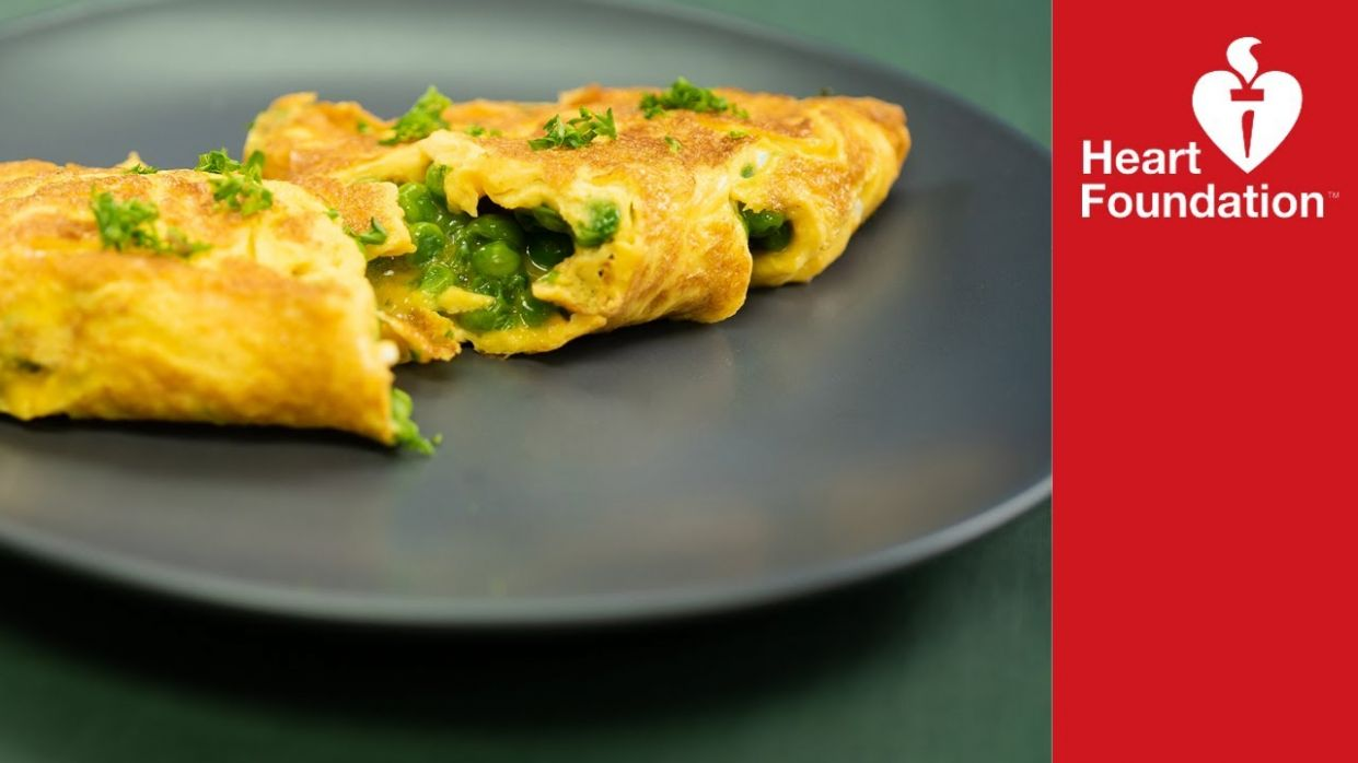 Pea & cheese omelette | Healthy Recipes | Heart Foundation NZ - Healthy Recipes Heart Foundation