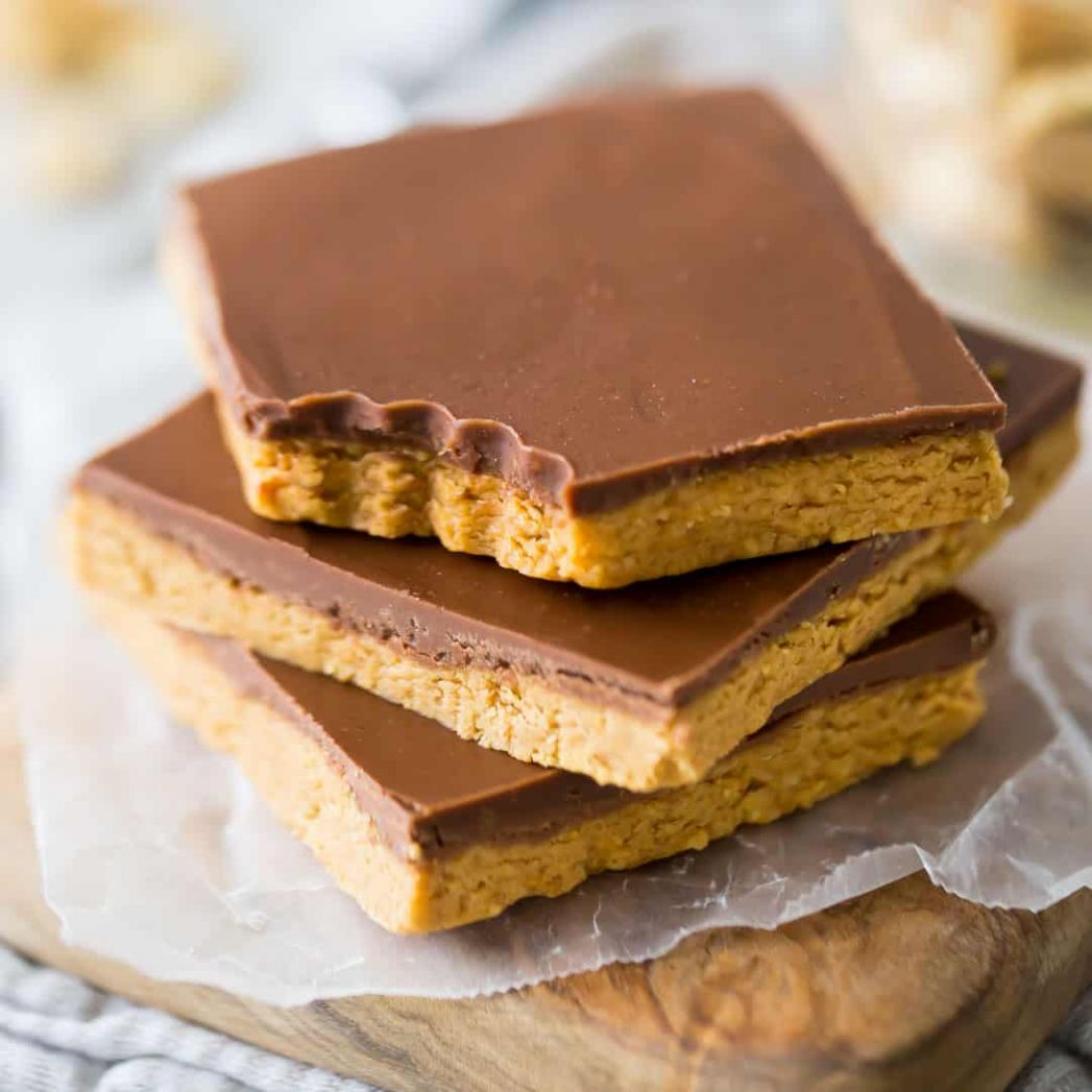 Peanut Butter Bars - Recipes Desserts With Peanut Butter