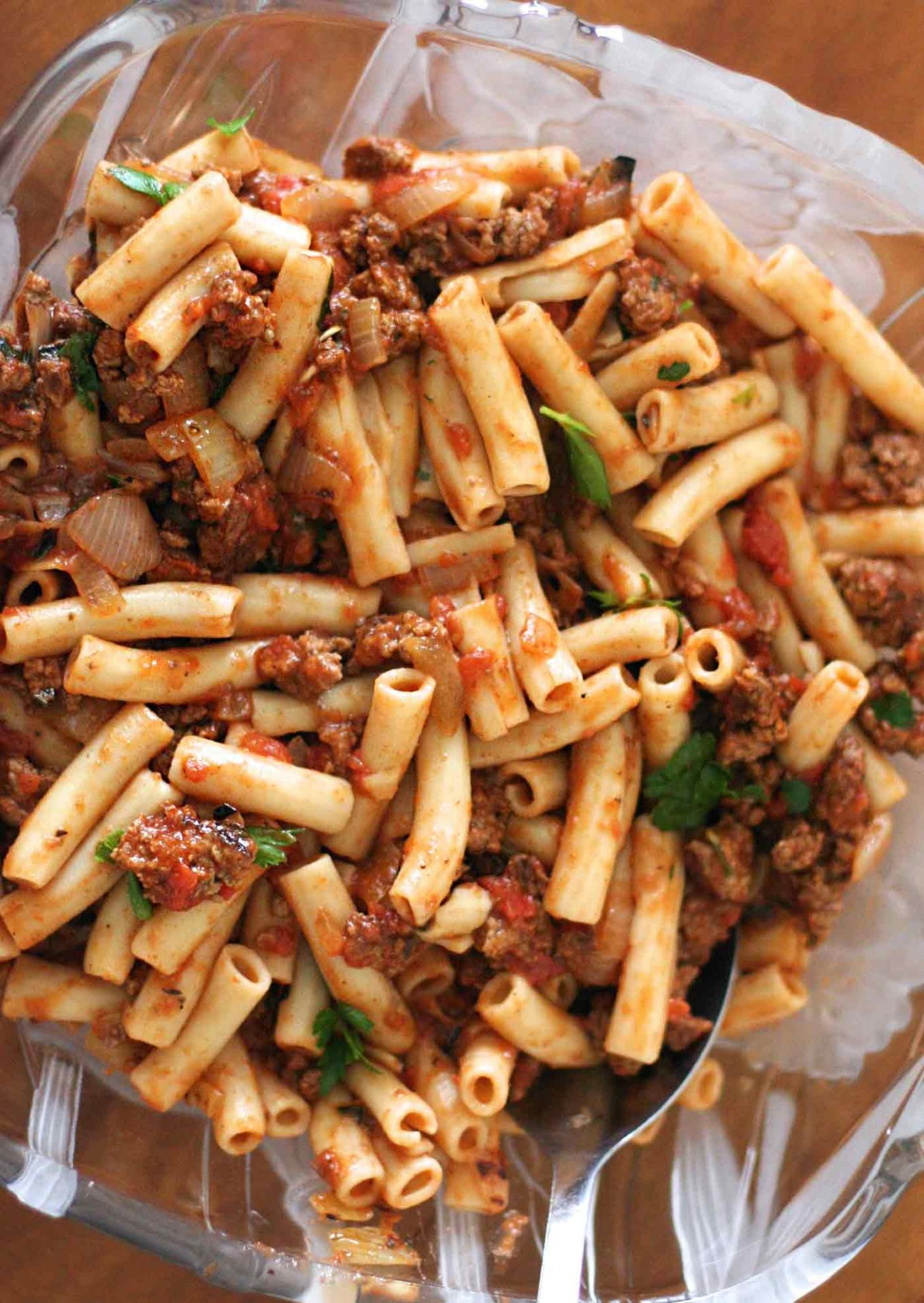 Penne Pasta with Meat Sauce - Recipes Pasta Mince Beef