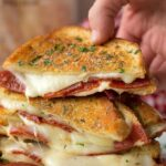 Pepperoni Pizza Grilled Cheese | Lil' Luna – Recipes Sandwich Pizza