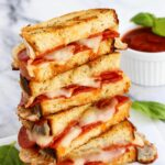 Pepperoni Pizza Grilled Cheese – Recipes Sandwich Pizza