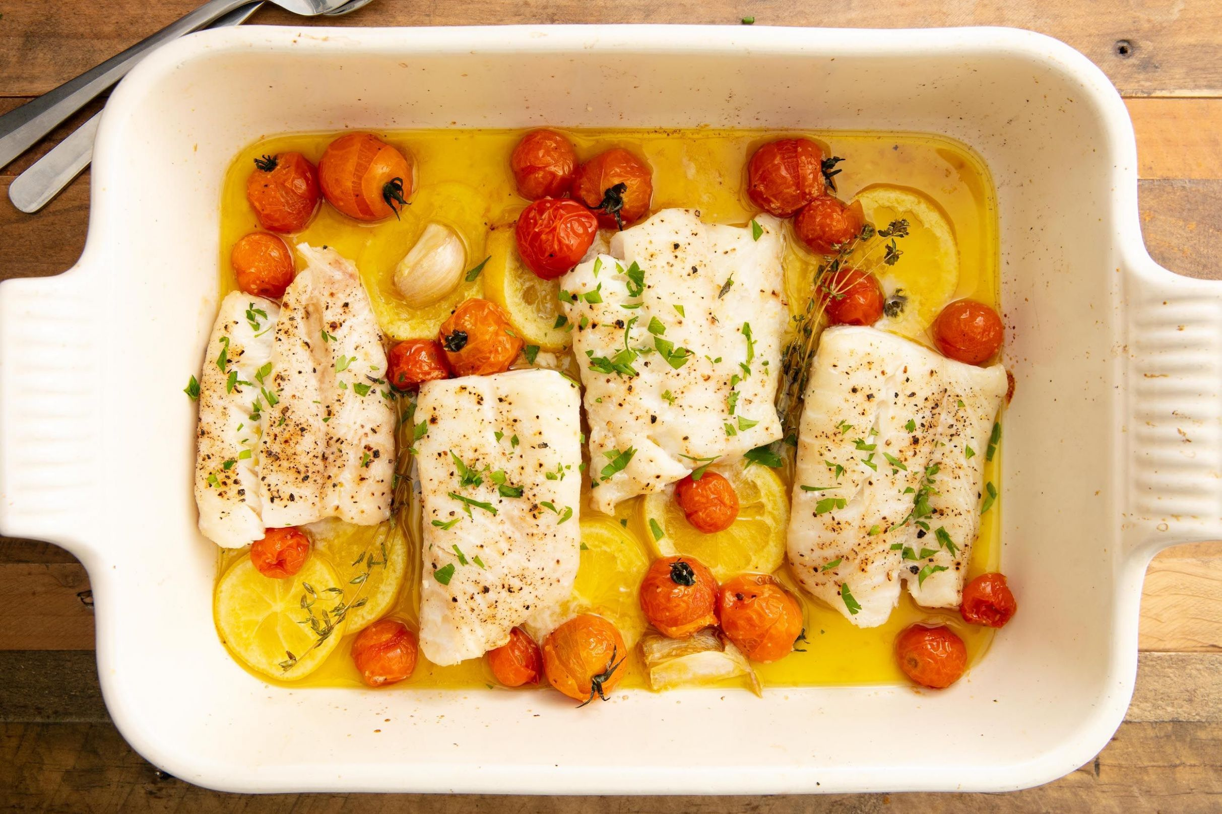 Perfect Baked Cod - Recipes Cooking Cod