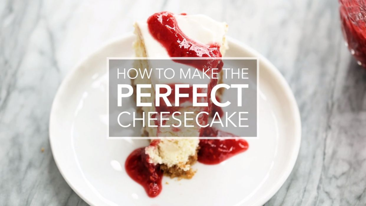 Perfect Cheesecake - Simple Recipes New York Cheesecake