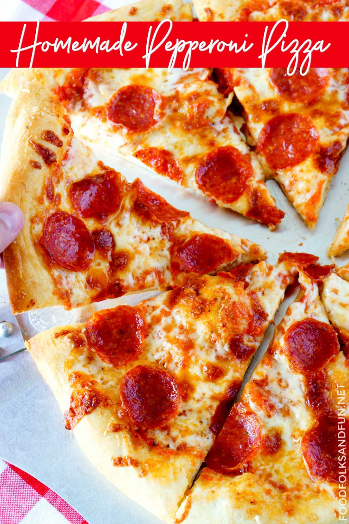 Perfect Homemade Pizza Recipe • Food Folks and Fun - Recipes Pizza Fillings