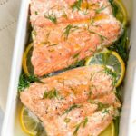 Perfectly Baked Salmon With Lemon And Dill – Recipe Fish Dill