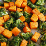 Perfectly Roasted Broccoli & Sweet Potatoes – Vegetable Recipes Healthy Side Dish
