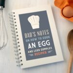 Personalised Chef's Hat Design Wire Bound Recipe Notebook – Cooking Recipes Notebook