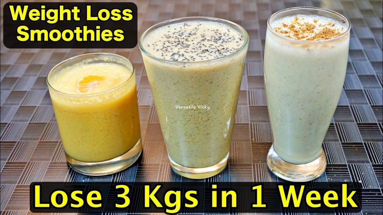 Pin on FOOD IDEAS - Smoothie Recipes For Weight Loss Youtube