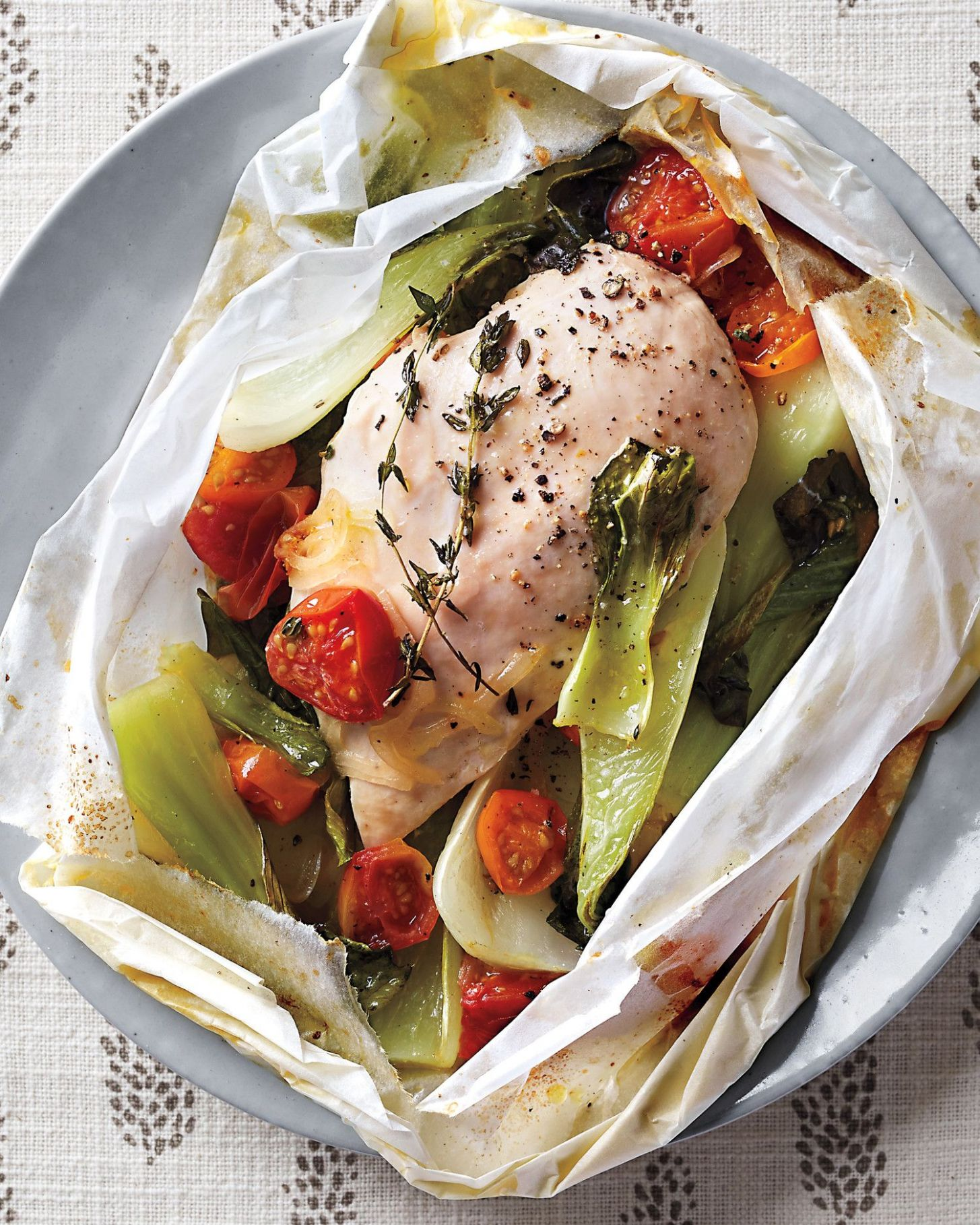 Pin on Health Matters Recipes - Recipe Chicken Breast En Papillote