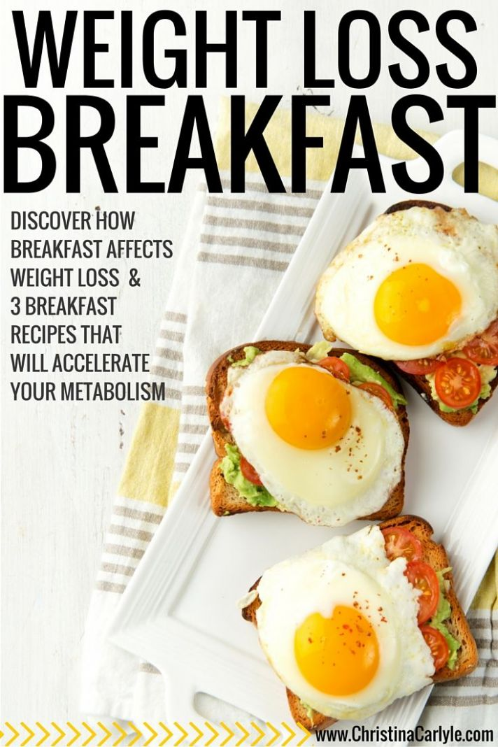 Pin on Healthy Recipes - Recipes For Weight Loss Breakfast