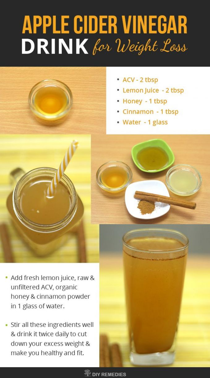 Pin on Lost weight - Recipe For Weight Loss Using Apple Cider Vinegar
