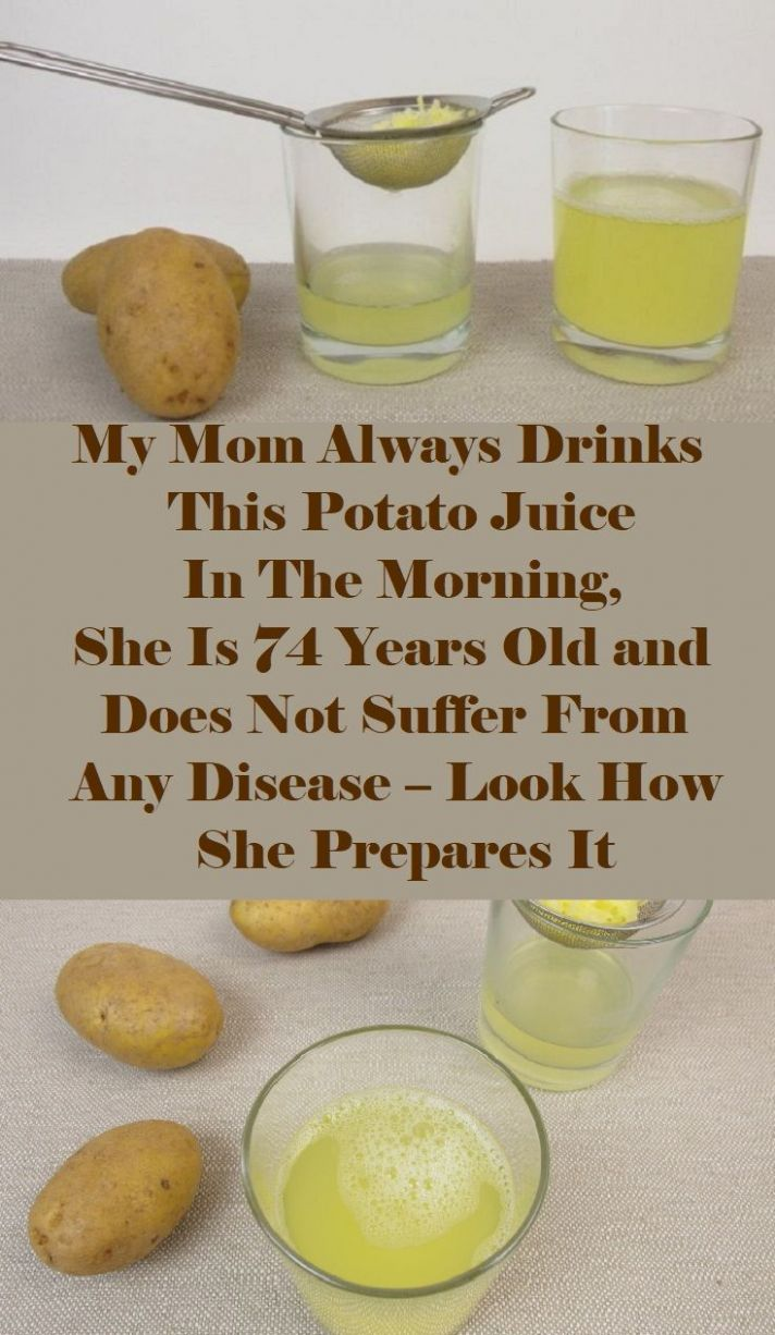 Pin on remedies - Recipes With Potato Juice
