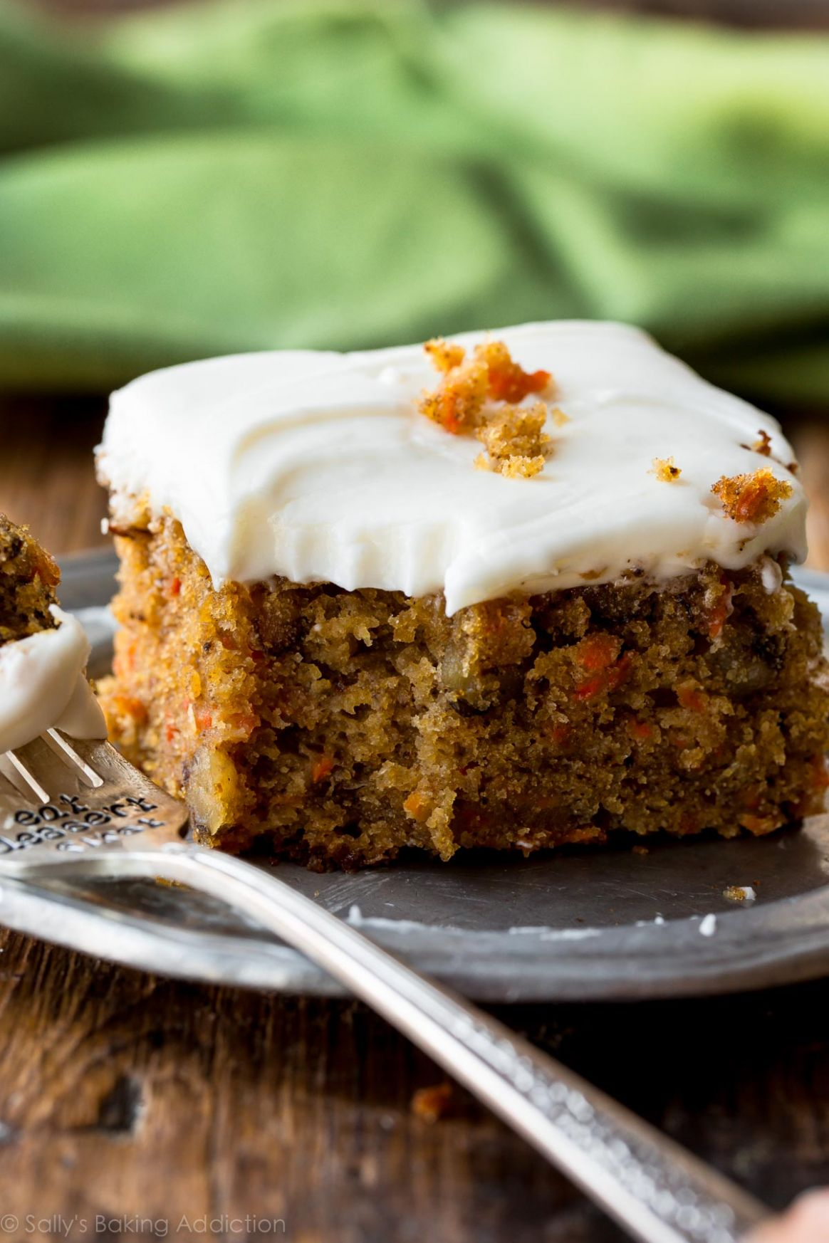 Pineapple Carrot Cake with Cream Cheese Frosting - Simple Recipes Carrot Cake