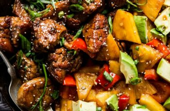 Pineapple Pork Stir-Fry with Peppers Recipe | The Modern Proper