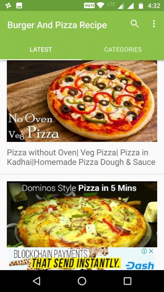 Pizza and Burger Recipe Videos for Android - APK Download - Pizza Recipes Video Download