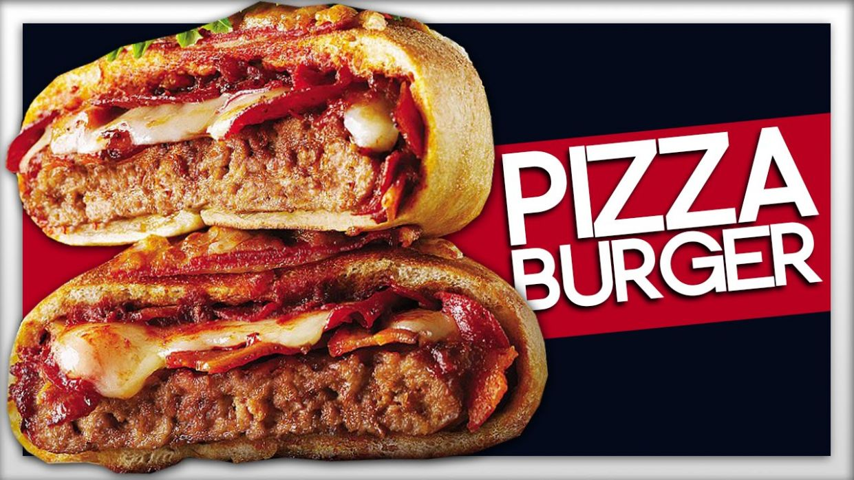 PIZZA BURGER! How To Make - Recipes For Pizza Burgers