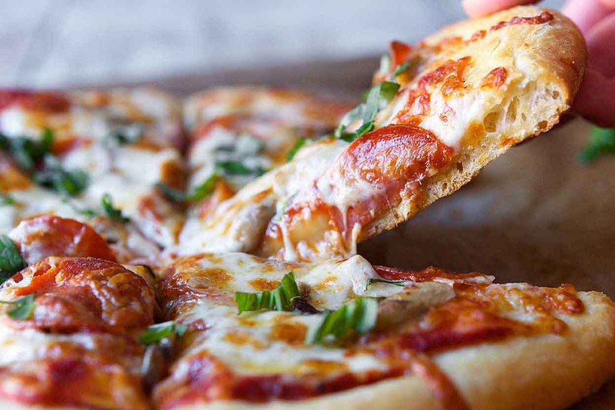 Pizza Crust - Recipes For Pizza Dough