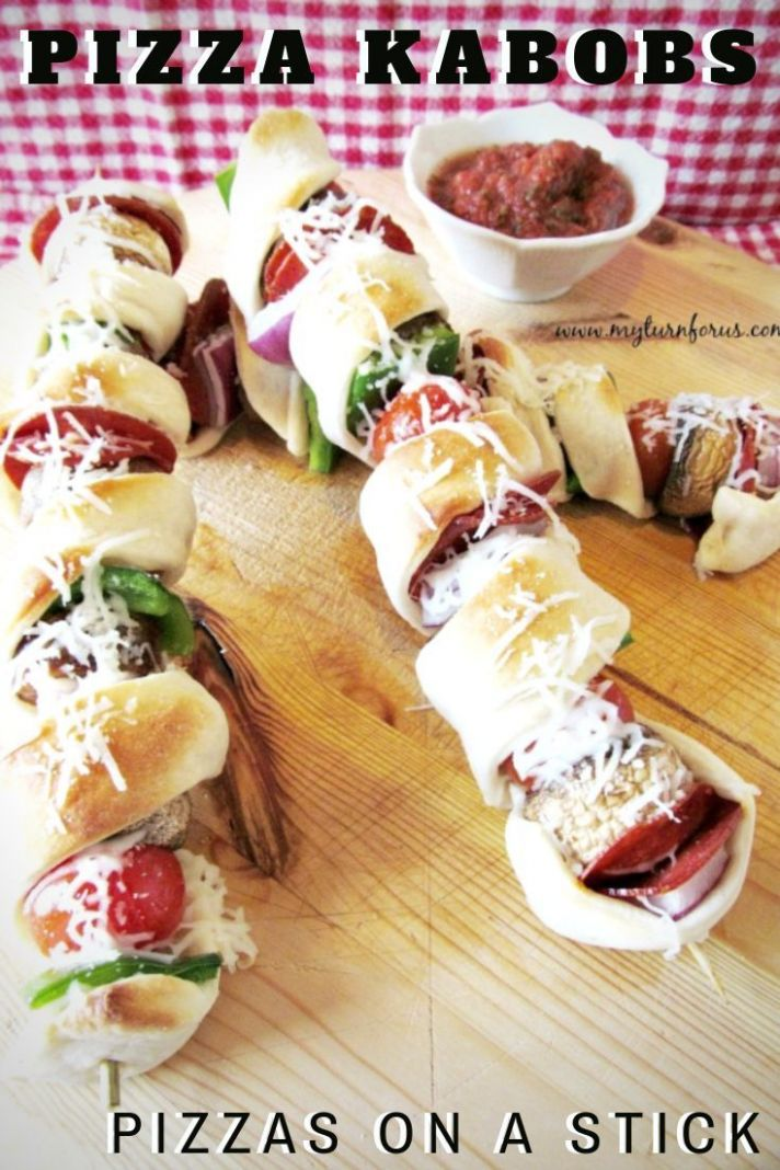 Pizza Kabobs - Recipes Pizza Skewers