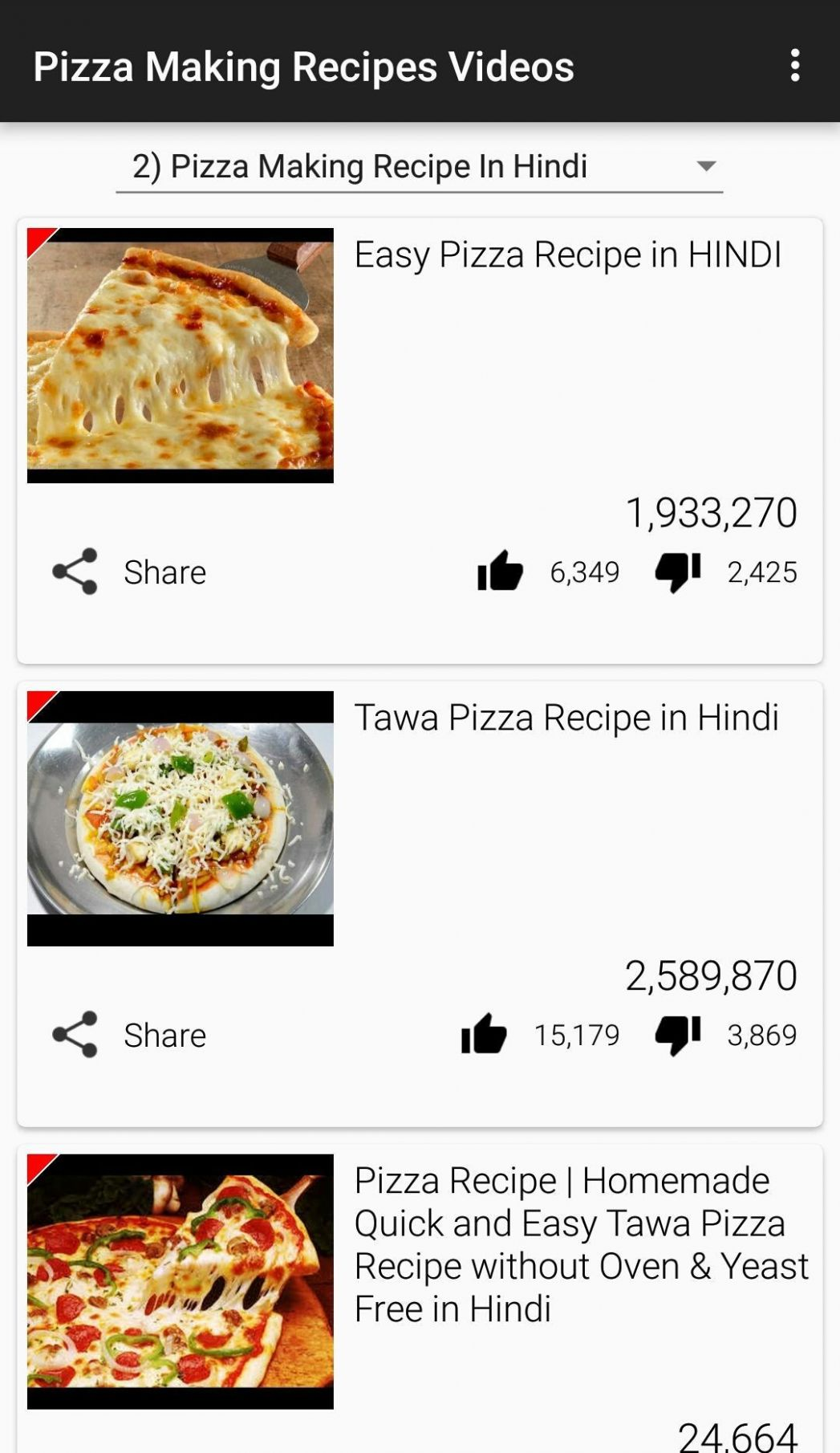 Pizza Making Recipes App Video for Android - APK Download - Pizza Recipes Video Download