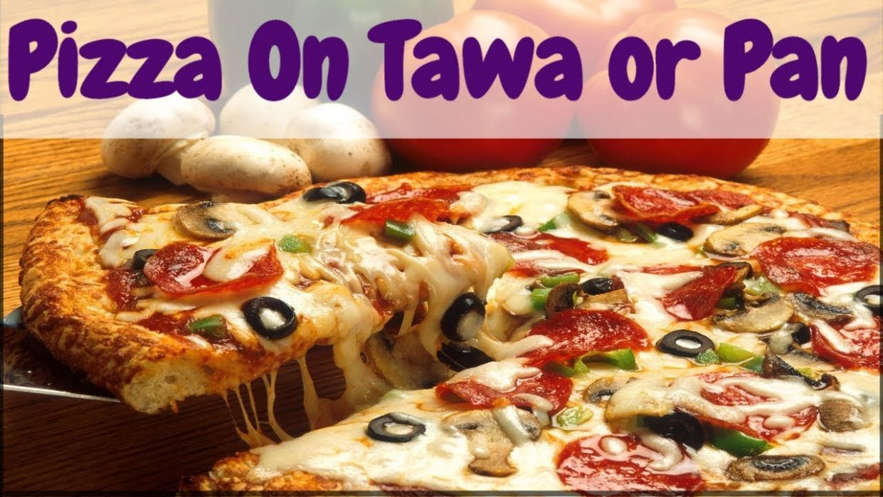 Pizza Recipe in Hindi | Homemade Quick and Easy Tawa Pizza Recipe without  Oven & Yeast Free in Hindi - Pizza Recipes Video In Hindi