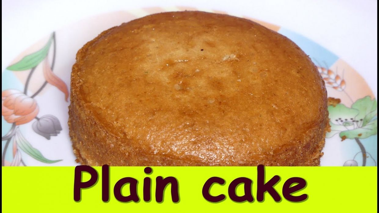 Plain cake without oven in kannada|How to make eggless plain cake| pressure  cooker cake without egg - Cake Recipes Kannada