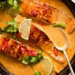 Poached Salmon In Coconut Lime Sauce | RecipeTin Eats – Recipes Fish Coconut Milk
