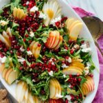 Pomegranate & Pear Green Salad With Ginger Dressing – Cookie And Kate – Salad Recipes For Dinner Party